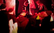 """Дон Карлос"". Режисер-постановник – Анатолій Солов'яненко, художник-постановник – Марія Левитська."