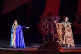 """Людмила Монастирська -  у трьох виставах березня: """"Набукко"""", """"Аїда"""" та """"Флорія Тоска"""""""