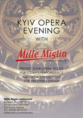 Вечір в Опері з Mille Miglia