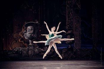 Феї Жвавості та Ніжності: Ганна Муромцева та Ірина Борисова. Фото О. Орлової.