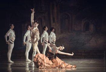 Болеро – Аліна Дулєсова, Олександр Бахмат. Фото О. Орлової.