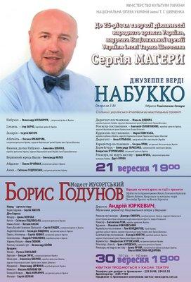 Творчий ювілей Сергія Магери: 25 років на музичній сцені